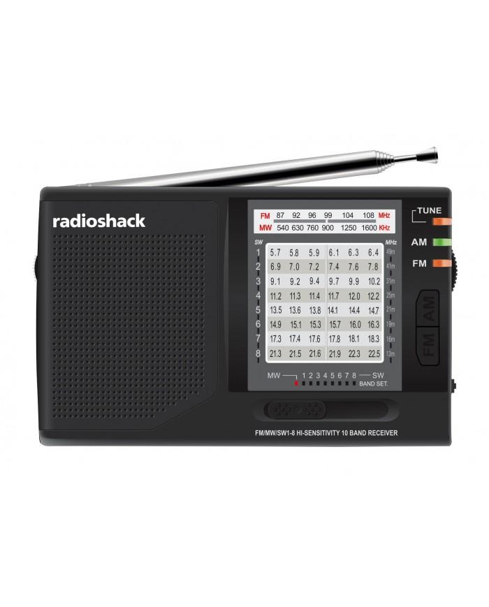 RADIO ANALOG AM-FM SHORT WABE NEGRO