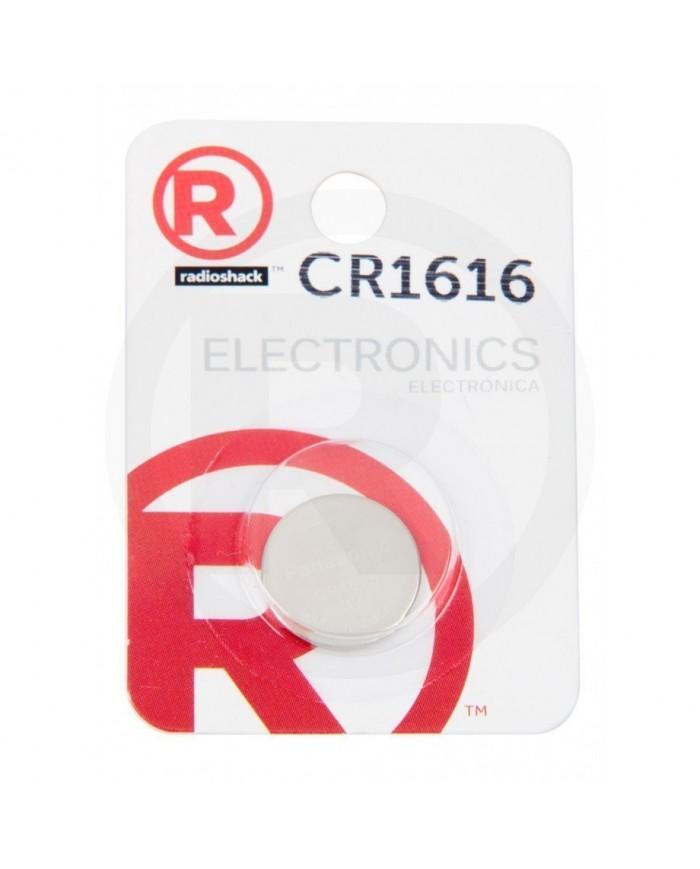RADIOSHACK BATERíA DE LITIO CR1616  2302274  3V