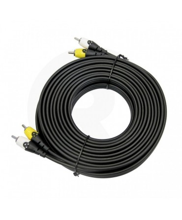 RADIOSHACK CABLE A  VESTéREO  1500225  24 PIES