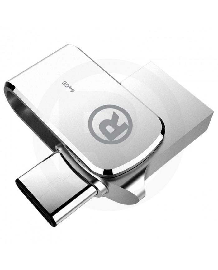 MEMORIA USB TIPO C FLASH DRIVE 64GB